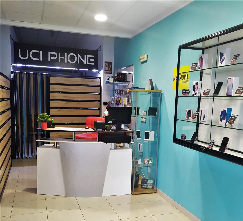 uciohone- tienda mostrador